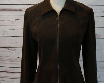 Vintage Lightweight Brown Coat