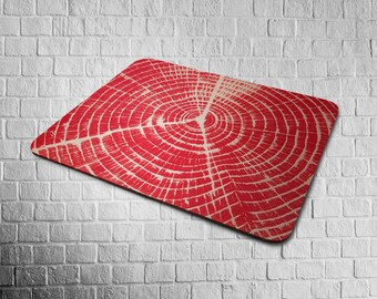 mousepad RED TREE RING