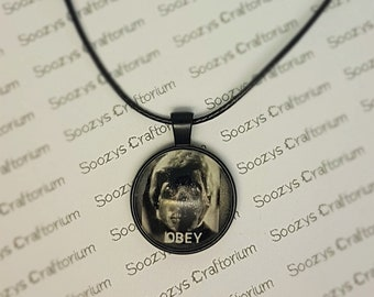 They Live - Obey - Pendant Necklace