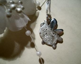 Blumenelf, Elf, pendant, 925 sterling silver, unique