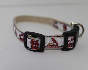 St. Louis Cardinals hemp dog collar