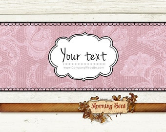 Soap Wrappers Editable Soap packaging 2 x 8 inch Printable soap labels Lace label template