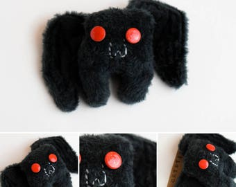 Little Mothman Cryptid Plush Pin