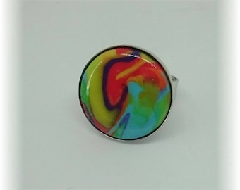 Flood of color collection - ring adjustable 19 mm