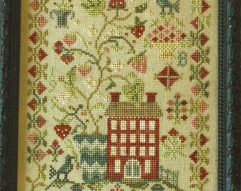 Strawberry Fields Forever by Blackbird Designs Counted Cross Stitch Pattern/Chart