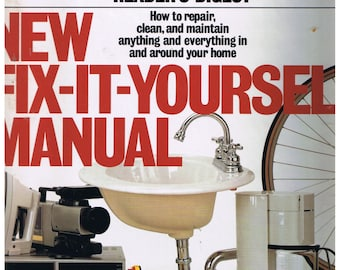 Handyman book etsy new fix it yourself manual by readers digest solutioingenieria Choice Image