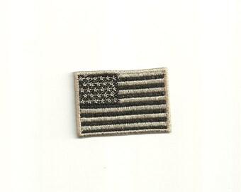 Tiny IR American Flag Patch Custom Made! F17