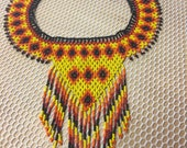 Chaquira Beaded Necklace ...