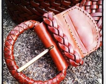 Bohemian Braided Belt
