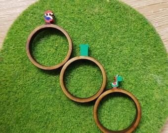 Super Mario and Yoshi Ring Trio