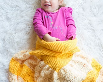 Princess Dress Blanket Crochet Pattern - Dress Blanket Pattern - Crochet Blanket Pattern - Child Blanket Pattern