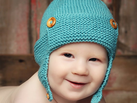 Baby Aviator Hat Knitting Pattern Baby Hat Pattern For Boys