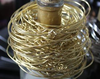 Stacked Skinny Gold Bracelets