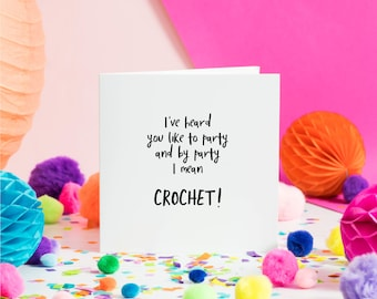 I've Heard You Like to Party   Greeting Card