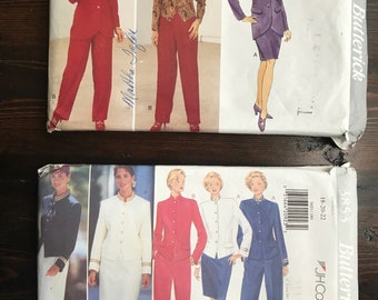 Butterick Suiting Patterns