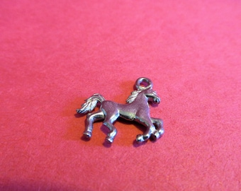 Twenty Pewter Horse Charms