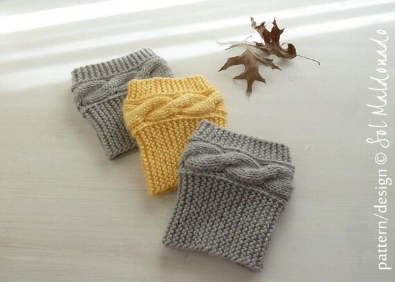 Knit Pattern Boot Socks Pattern Boho Knits Boot Cuffs Leg Warmers