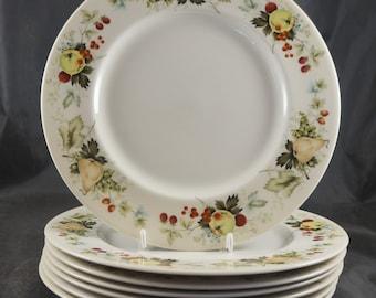 7 Dinner Plates - Royal Doulton MIRAMONT