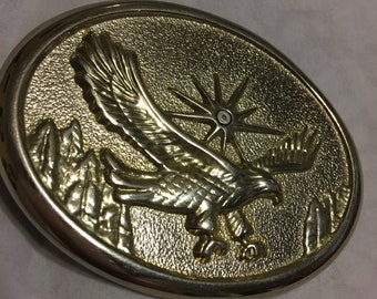 Totally awesome eagle belt buckle vintage eagle 1980s