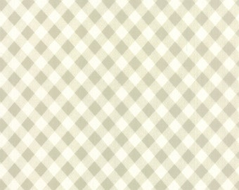Vintage Picnic Gray Check Fabric by Bonnie and Camille for Moda Fabrics