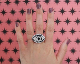 Eyeball Adjustable Ring