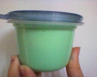 Minty green slime