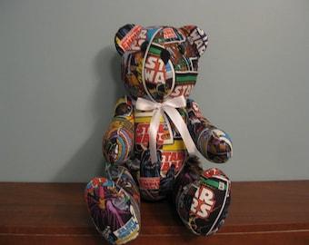 Star Wars- Comics- Bear-stuffed bear novelty bear souvenir bear handmade bear custom bear teddy bear