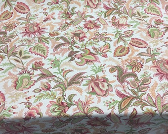 Richloom Wicklojs Passion Pink Floral fabric By the yard Multipurpose