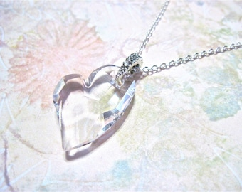 "Heart Necklace "" The Heart want's what it want's """