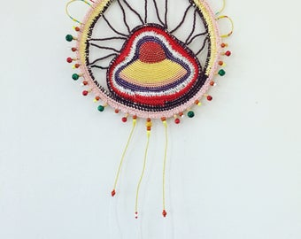 Always - Original fibre art from Hybrid Forms series OOAK