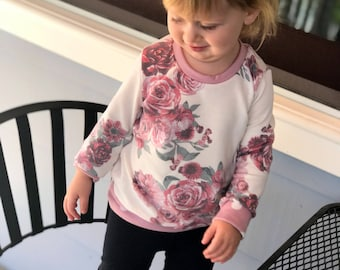 Sloane Keyhole Sweater (tunic top - spring top - floral - polka dot sweater - toddler sweater - spring outfit - backless)