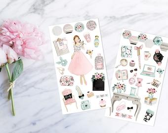 Rosé Linen - Decorative Set