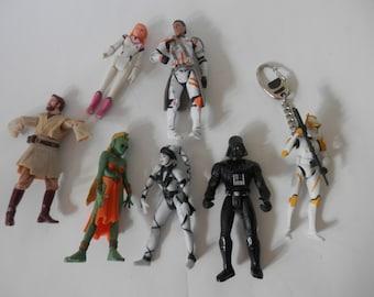 star wars action figures 1998 darth vader greeata Jendowanian etc