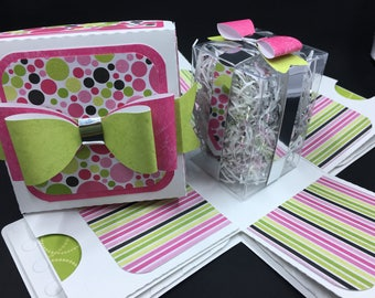 Birthday or All Occasion Gift Card Box
