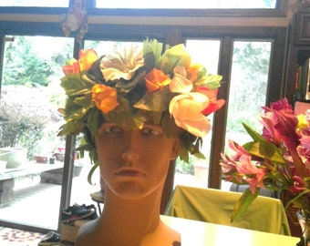 Small or Childs Flower Crown