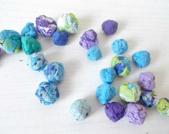 Wildflower Seed Bombs -Plantable Paper With Wildflower Seed Balls - Cool Waters Mix