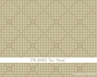 SPRING SALE - In My Room - Nook in Tan - 1 Yard - by Jenean Morrison for Free Spirit - sku PWJM080-Tan