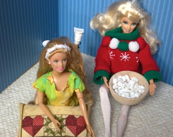 """Barbie's """"Have a Friend Over"""" Floor Pillows"""