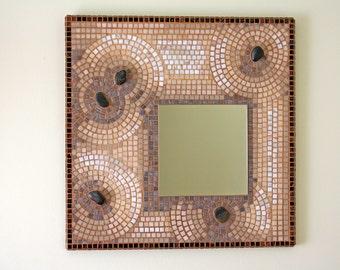 Zen Garden Mosaic Mirror