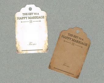 Wedding Tags, Set of 50,Advice Tags, Printed Tags, Wedding Shower Tags, Tags, Wedding Favor, Thank You Tag