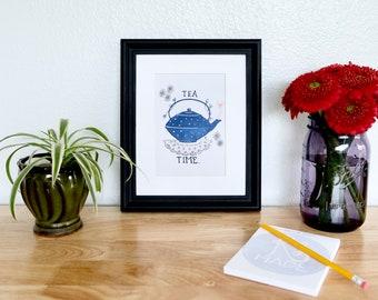 "Giclee Print— ""Tea Time"""