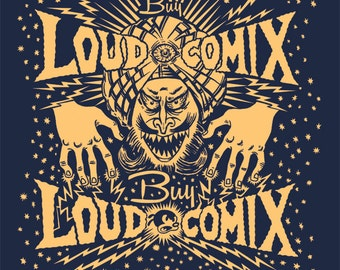 Buy LOUD COMIX hypnotist shirt by Jamie Vayda