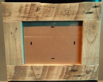 Cadre photo bois de palettes récupérées