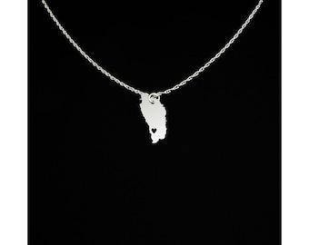 Dominica Necklace - Dominica Jewelry - Dominica Gift