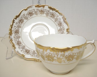 Coalport Hazelton Tea Cup and Saucer