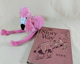Antique Book ~ The Story Way ~ Hahn ~ 1940's ~ Children's Book ~ School Book ~ Story Book ~ Retro Artwork ~ Penny Lane Treasures
