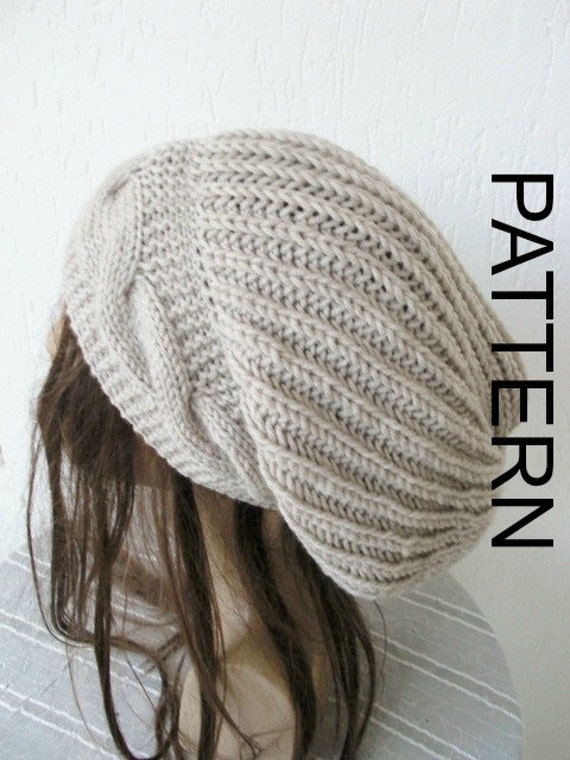 Instant Download Knitting Hat Pattern Digital Knitting