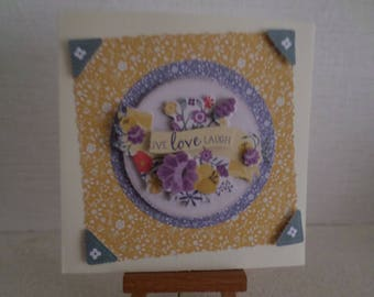 for any occasion 3D card