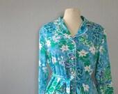 Vintage Floral print dres...