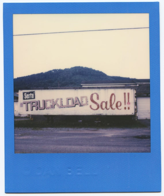 Truckload Sale Blue